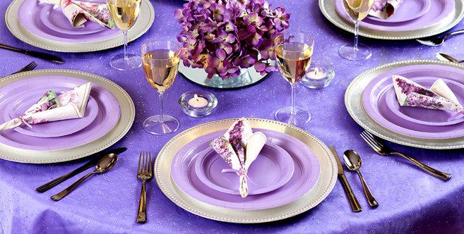 Lavender Tableware #4
