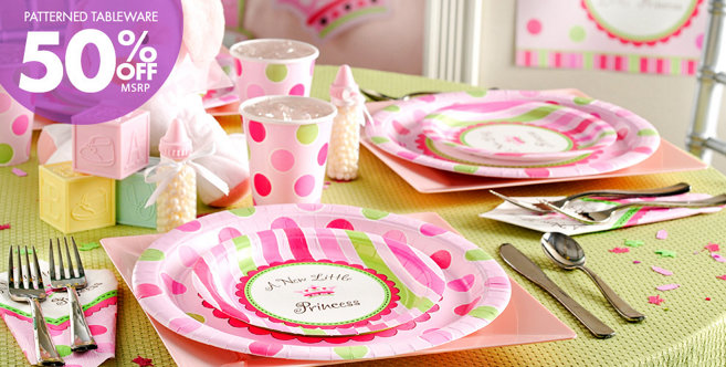 Little Princess Baby Shower Party Supplies - Party City