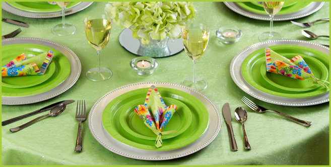 Solid Kiwi Tableware #2