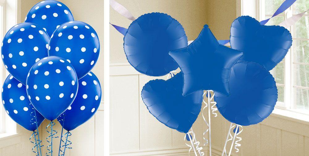 Royal Blue Balloons
