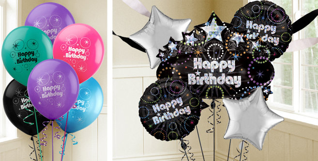 Time to Party Birthday Balloons - Party City