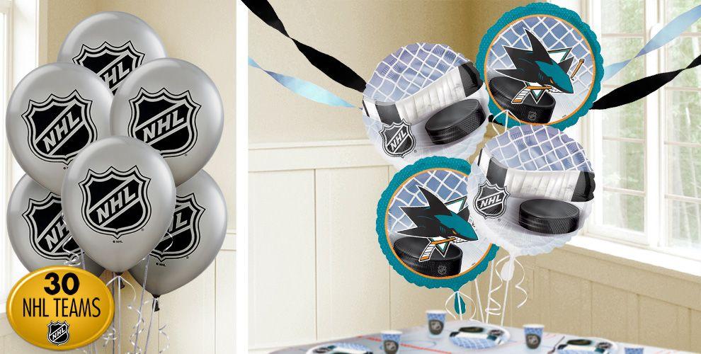 Hockey Balloons