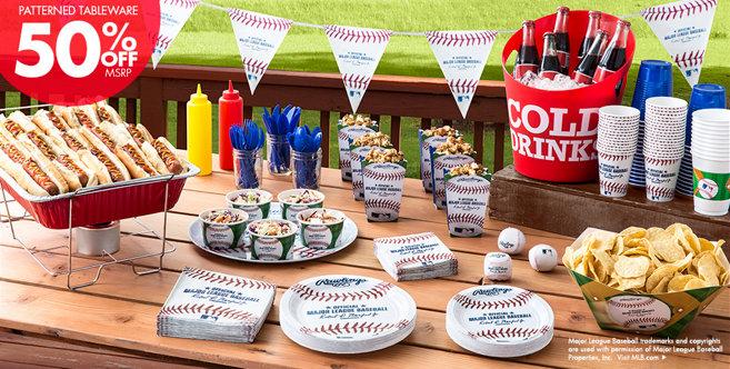 Mlb Rawlings Baseball Party Supplies Amp Decorations Party