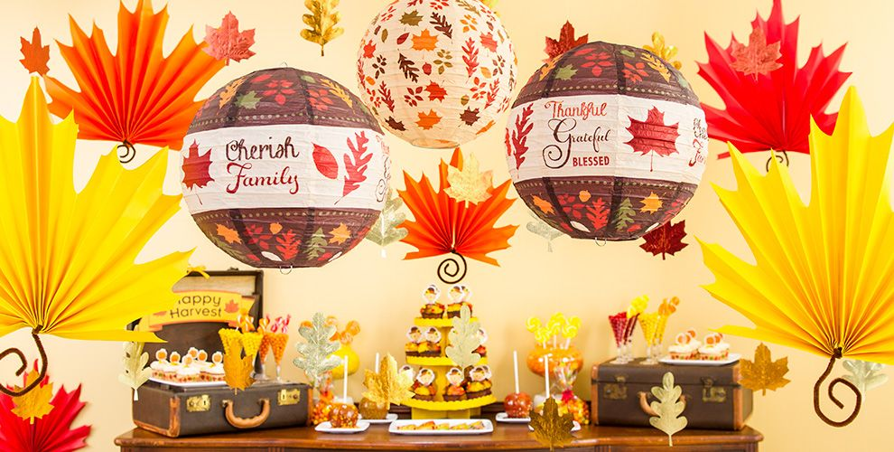 fall leaves decorations party city - Images Of Fall Decorations