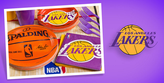 Nba Los Angeles Lakers Party Supplies Party City