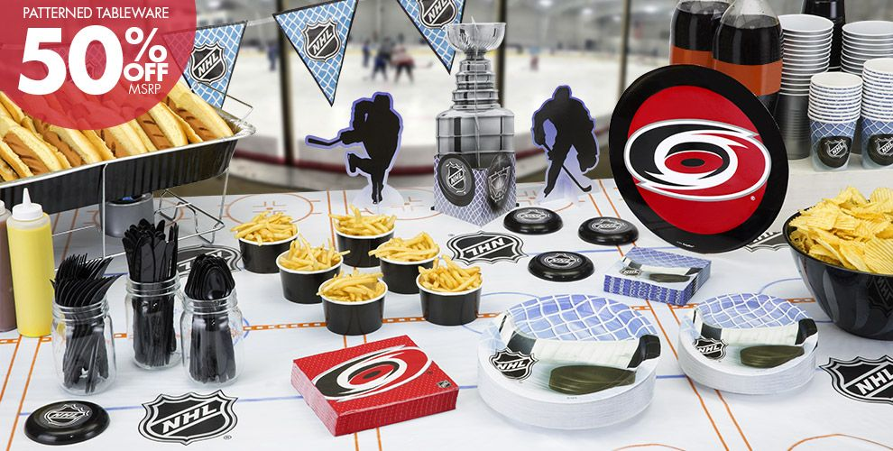 NHL Carolina Hurricanes Party Supplies