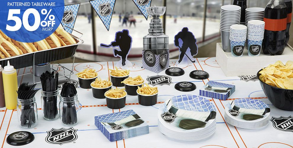 Hockey Party Supplies