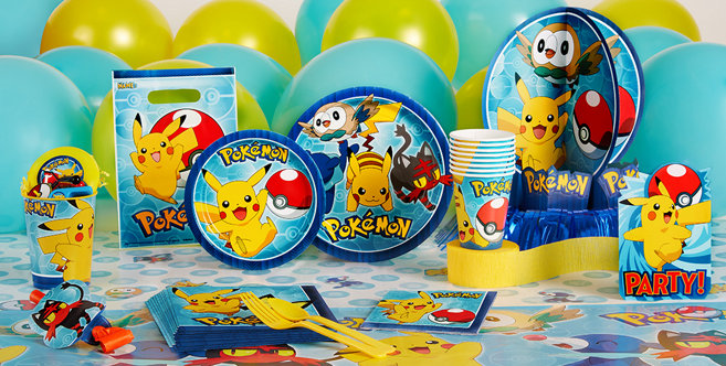 Pokemon Party Supplies Pokemon Birthday Party City
