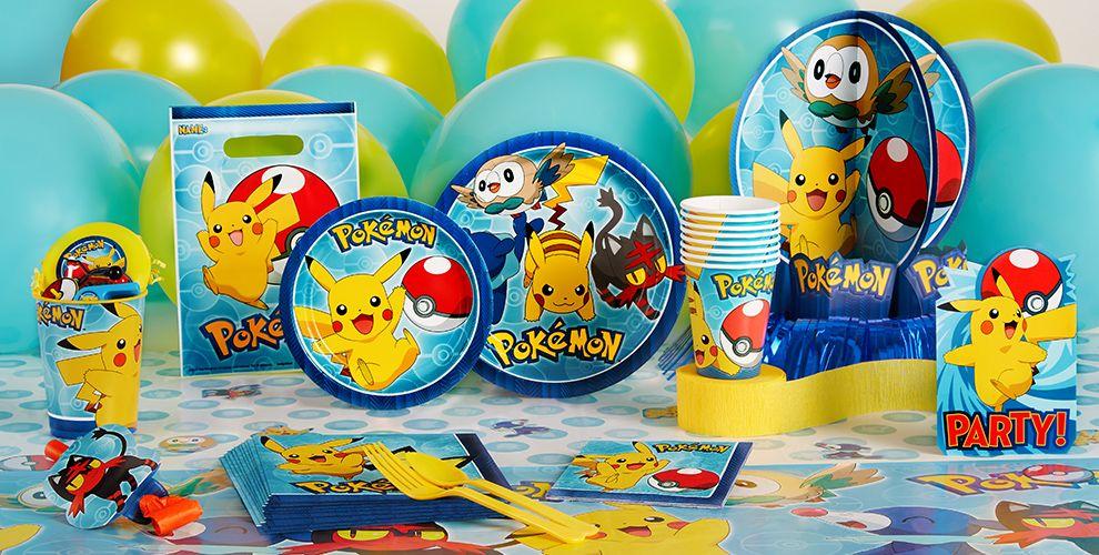 Pokemon Party Supplies Pokemon Birthday Party City