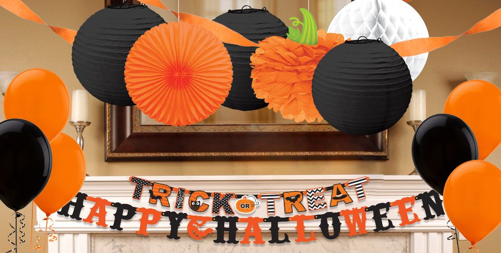 shop halloween decorations by color party city - Holloween Decorations