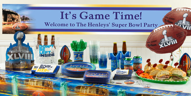 Super bowl party supplies for Super bowl party items