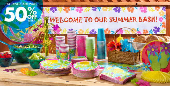 Summer Scene Party Supplies Party City