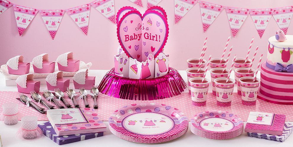 shower with love girl baby shower supplies party city