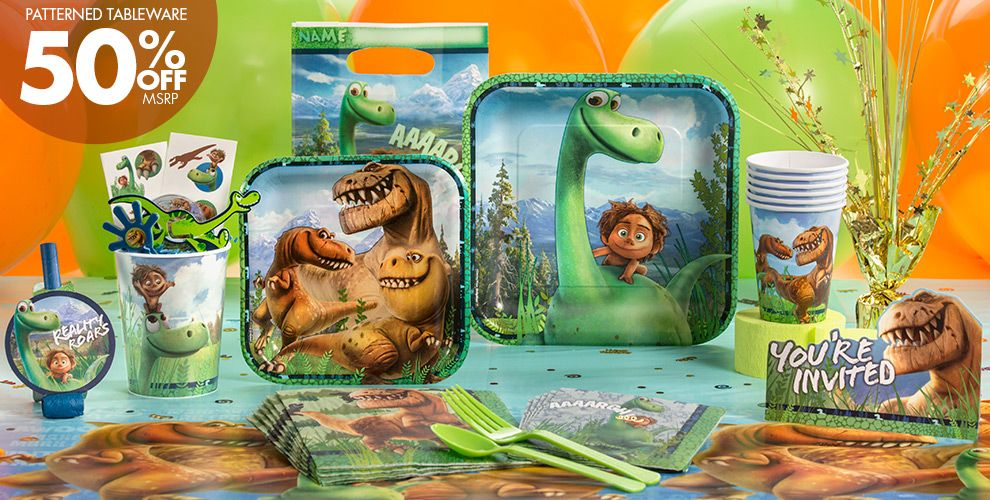 ... Good Dinosaur Party Supplies - Dinosaur Birthday Party - Party City