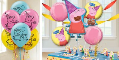 Peppa Pig Balloons Party City