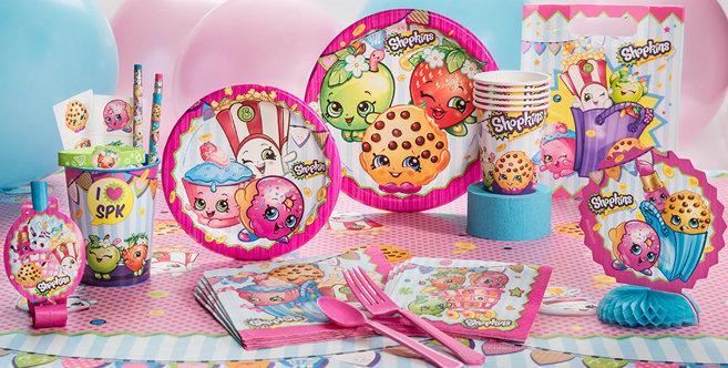 Shopkins Party Supplies Shopkins Birthday Ideas Party City