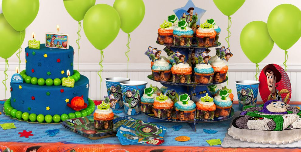 Toys From Party City : Toy story cake supplies cupcake cookie ideas