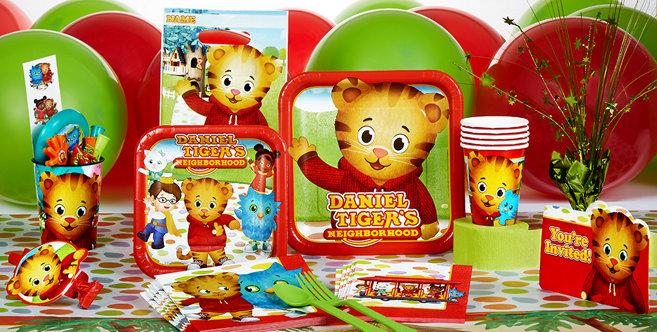 Daniel Tiger S Neighborhood Party Supplies Daniel Tiger