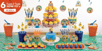 Minion Cake Supplies Minion Cupcake Cookie Ideas Party City