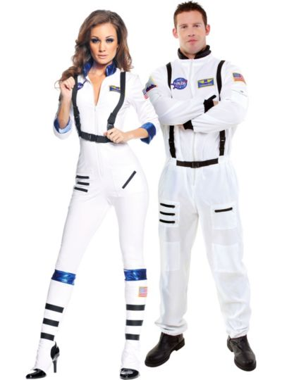Blast Off Astronaut Couples Costumes