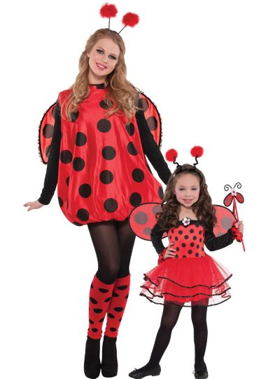 Ladybug Mommy And Me Costumes