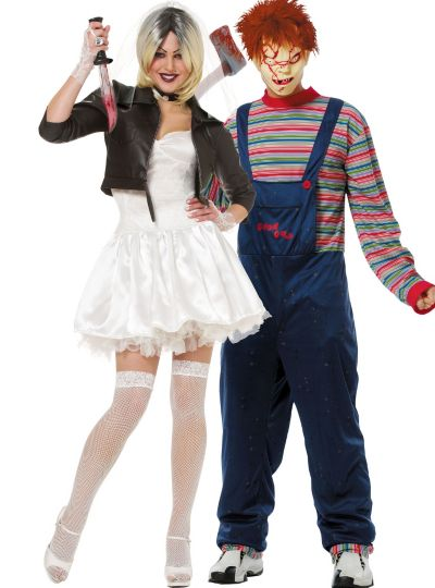 Chucky and Bride Couples Costumes