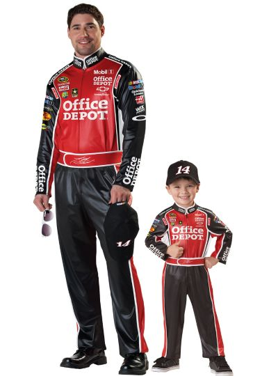 Tony Stewart NASCAR Daddy and Me Costumes