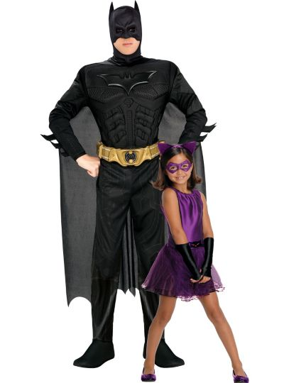 Batman and Catwoman Daddy and Me Costumes