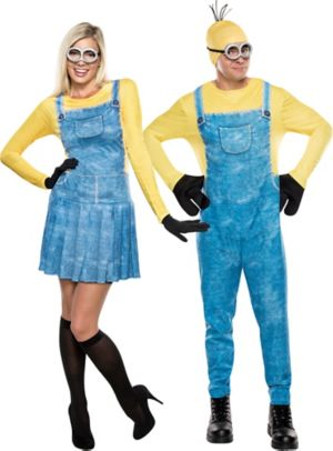 Adult Minions Couples Costumes
