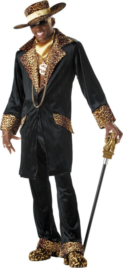 Adult Super Mac Daddy Pimp Costume