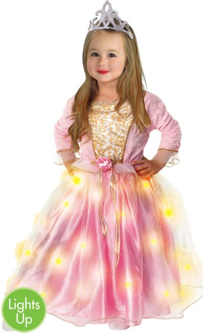 Toddler Girls Light-Up Twinkler Princess Costume