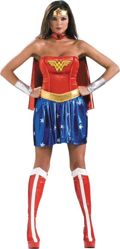 Adult Wonder Woman Costume Deluxe