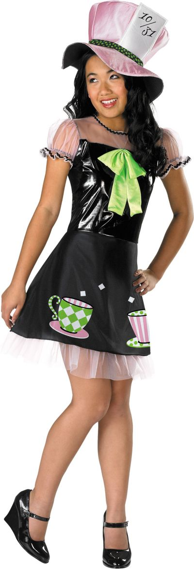 Girls Mad Hatter Costume