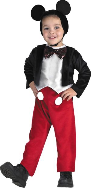 Toddler Boys Mickey Mouse Costume