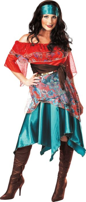 Adult Bohemian Babe Gypsy Costume