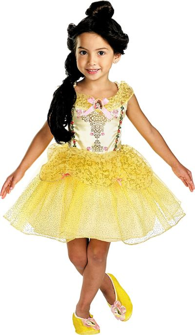 Toddler Girls Classic Belle Ballerina Costume