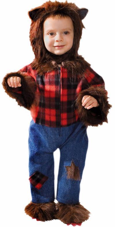 Toddler Boys Wolfman Costume