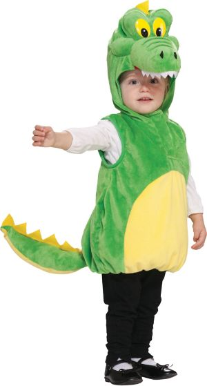 Toddler Boys Cuddly Crocodile Costume
