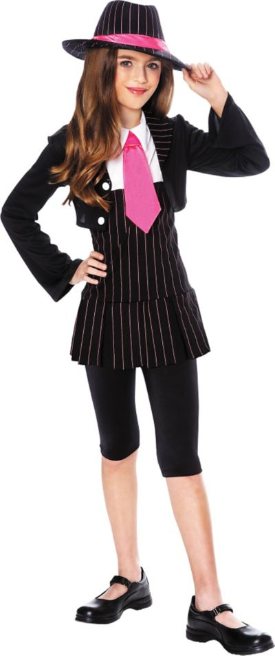 Girls Gangsta Girl Costume