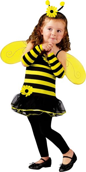 Toddler Girls Honey Bee Costume