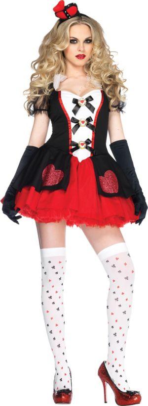 Adult Enchanted Queen of Hearts Costume