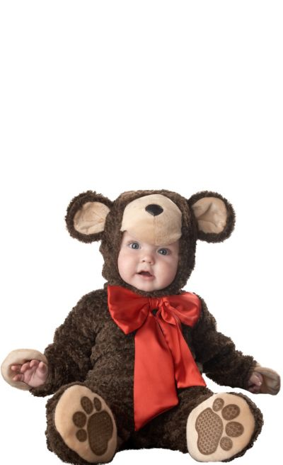 Baby Lil Teddy Bear Costume Deluxe