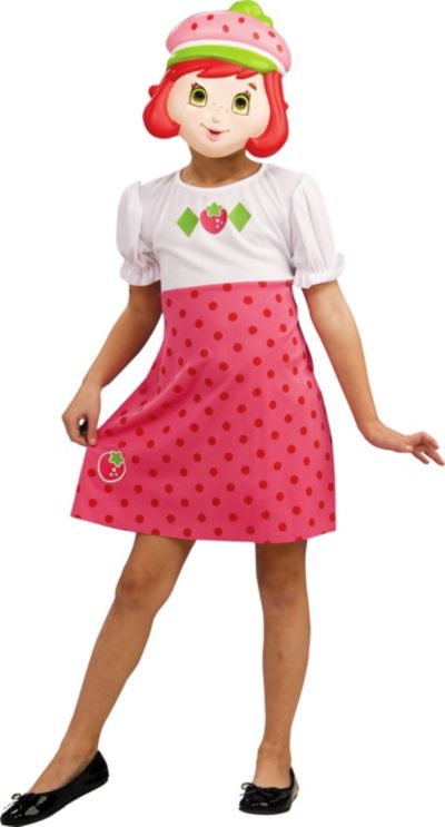 Strawberry Shortcake Costume Set