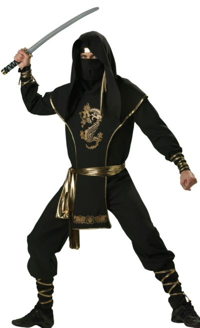 Adult Ninja Warrior Costume Premier