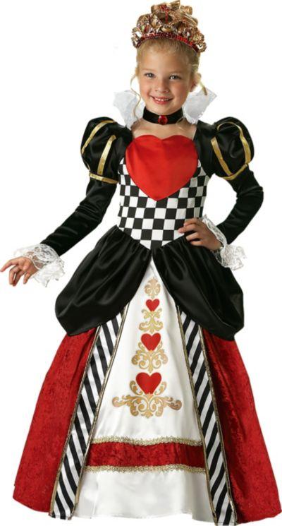 Girls Queen of Hearts Costume Elite