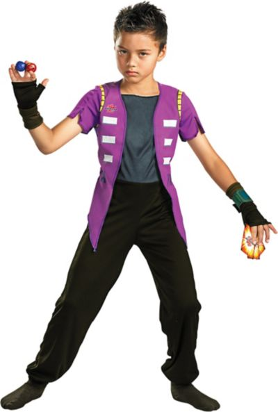 Boys Shun Costume - Bakugan