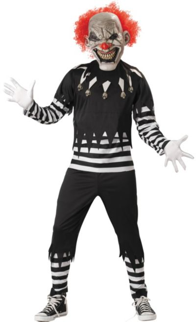 Adult Psycho Clown Costume