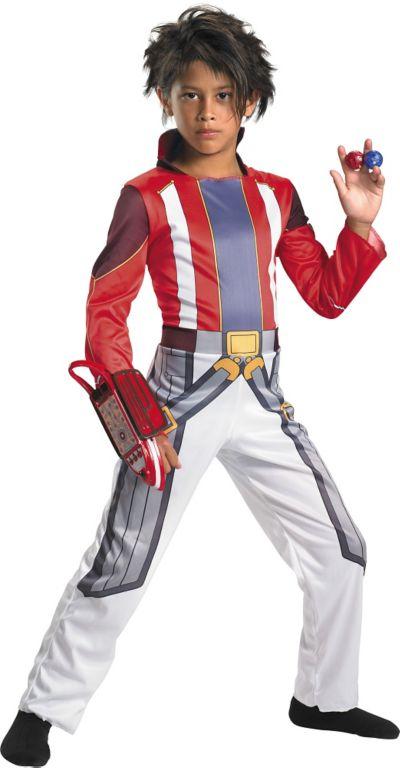 Boys Dan Costume Deluxe - Bakugan