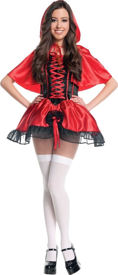 Teen Girls Little Red Riding Hood Costume