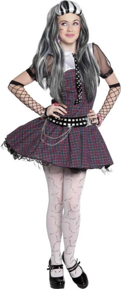 Girls Frankie Stein Costume - Monster High